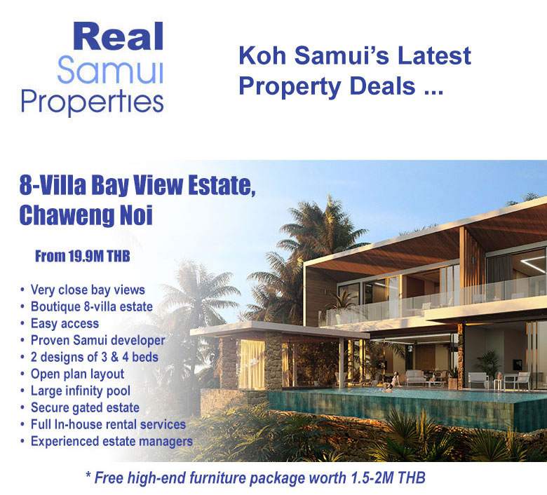 Koh Samui Luxury Villas for Sale