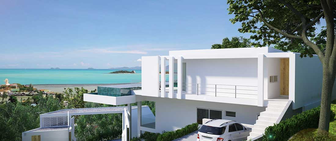 Koh Samui property - Sea View Villas