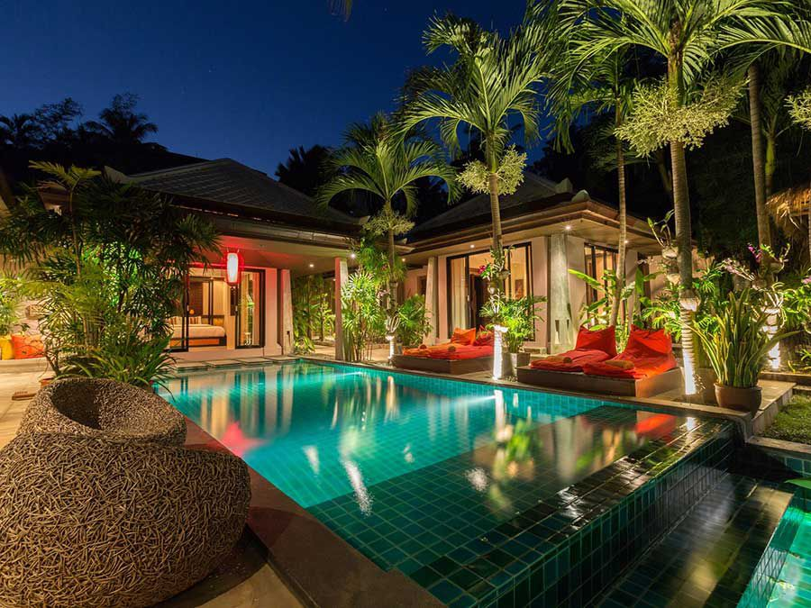Beautiful and Spacious 2-Bed Balinese Style Pool Villa, Bo Phut Hills