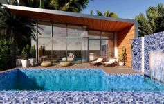 New 2-Bed Sea and Mountain View Pool Villas, Bang Por