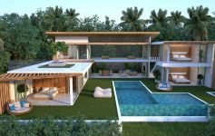 Cutting-Edge 4-Bed Contemporary Designer Pool Villa, Chaweng Noi
