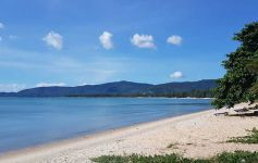 Pristine Beach Land on Samui's West Coast – Sunset & Island Views