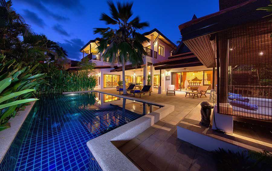 Koh Samui Property For Sale 3 Bedroom Beachside Pool Villa