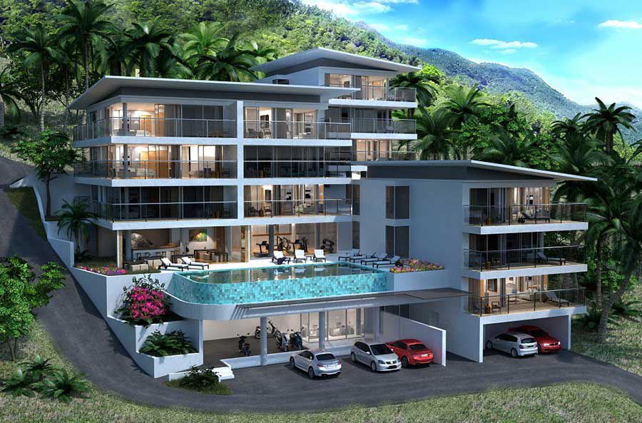 Koh Samui Property For Sale Brand New 2 Bedroom Apartments Sea