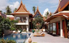 High-End Contemporary Thai Style Pure Beachfront Villa, West Coast