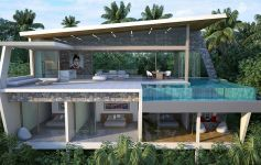 New Contemporary Sea View Villa Collection Overlooking Chaweng Noi Beach