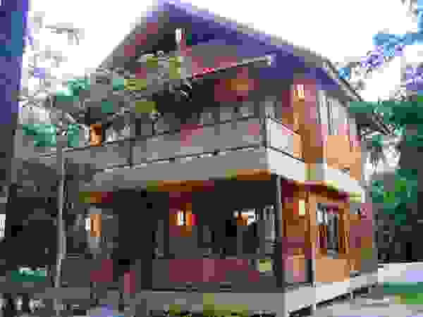 Wooden house thai style house design plans for Minimalist house thailand