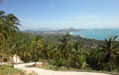 Ready-to-build ocean view land plot at Chaweng Noi