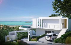 4-Bed Contemporary Designer Sea View Villa, Big Buddha