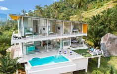 Award-Winning 2-3-4 Bed Contemporary Sea View Villas, Lamai