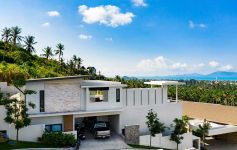 Magnificent 4-Bed Detached Sea View Pool Villa, Bo Phut