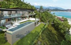 Contemporary 4-Bed Sea View Pool Villa – Overlooking Chaweng Bay