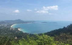 1 Rai of Exceptional Panoramic Sea View Land, Chaweng Noi