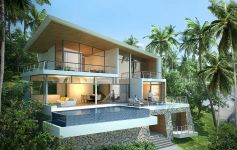 3-4 Bed Contemporary Ocean View Villas in Lamai