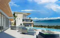Ocean View Apartments & Private Pool Penthouses, Maenam