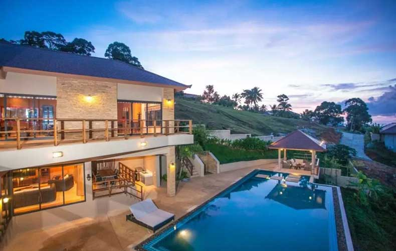 Luxury Five Bed Sea View Villa, Bang Por