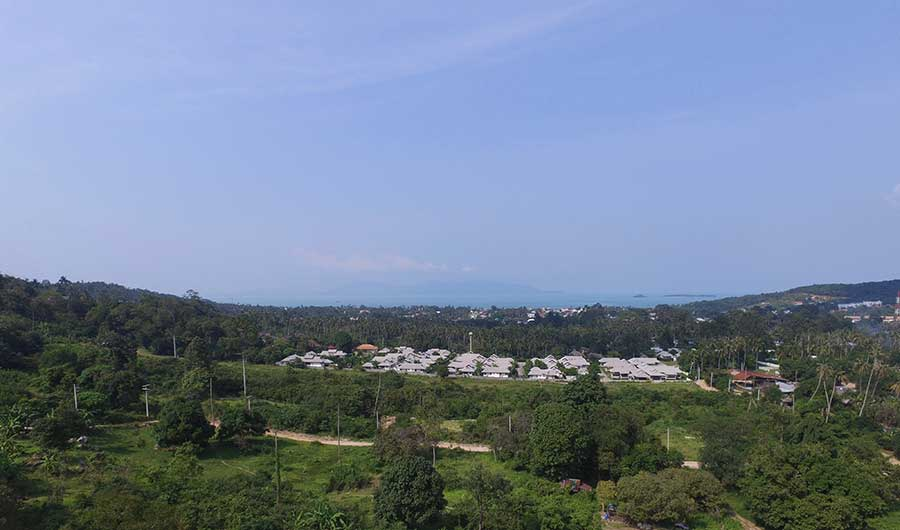 2 Rai of Sea View Land, Bo Phut Hills