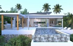 New 2-Bed Sea View Pool Villas, Maenam