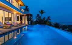 Magnificent 6-Bed Sea View Villa, Chaweng Noi