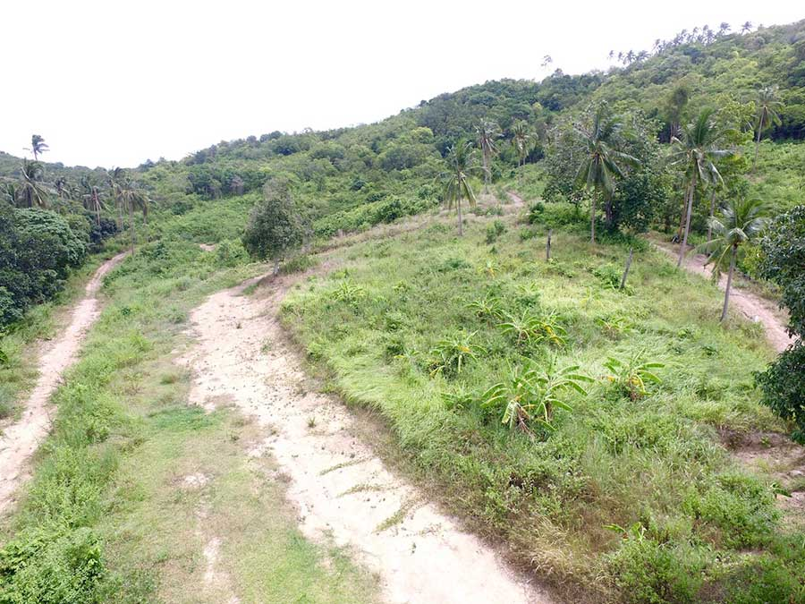 17.5 Rai of Hillside Land in Maenam