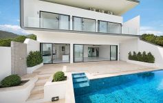 Modern 3-Bed Sea View Villas, Bo Phut