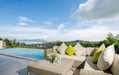 The Ridge Villa 9 - 4-bed Panoramic Sea View Villa, Plai Laem