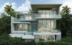 3-Bed Contemporary Sea View Villas, Choeng Mon
