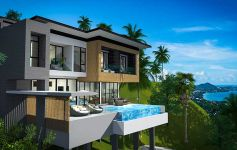 3 & 4-Bed Panoramic Sea View Villas, Chaweng Noi