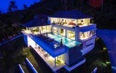 Contemporary Deluxe 4-Bed Ocean View Villa, Bang Por