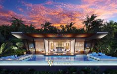 Contemporary 2-Bed Sea View Pool Villas, Choeng Mon