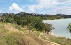 West-Facing Waterfront Land Parcel at Plai Laem