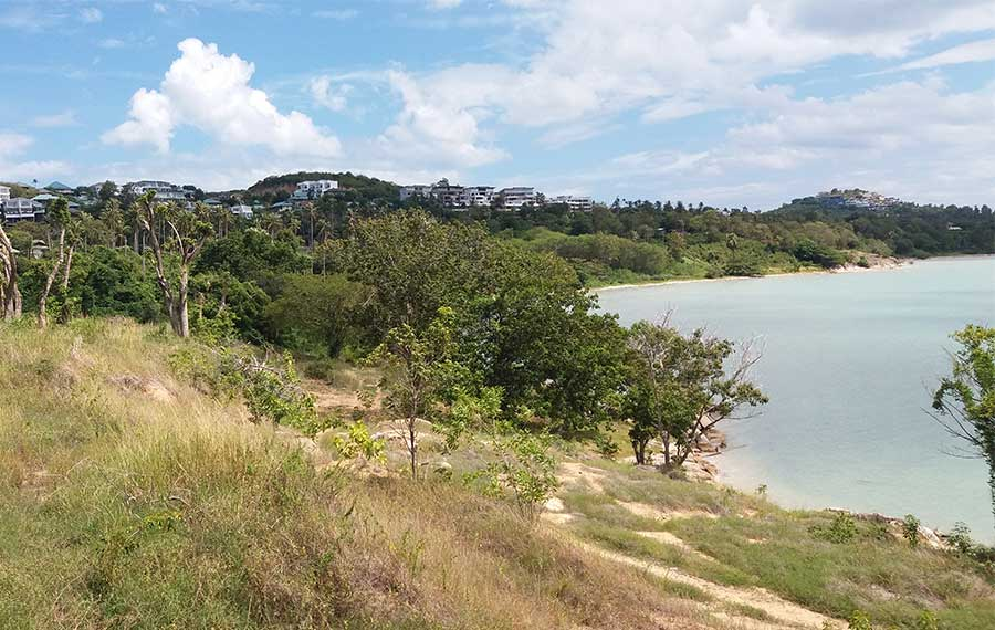 Koh Samui Land For Sale Waterfront Land Parcel By