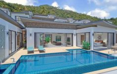 Brand New Sea View Villa Development, Chaweng Noi