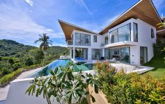 Contemporary 3-Bed Ocean View Villas, Chaweng Noi