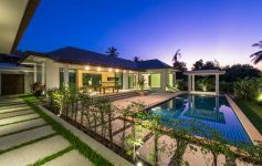 3-Bed Balinese-Style Single Storey Pool Villas, Maenam
