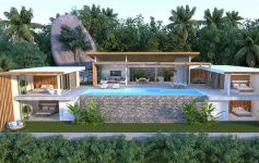 Bespoke 4-Bed Contemporary Designer Pool Villa, Chaweng Noi