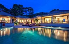 5-Bed Panoramic Sea View Villa with Extra Land Plot in Bang Por