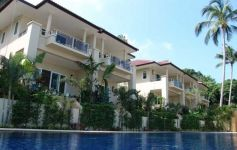 Fully Serviced Ocean View Townhouses, Bang Por