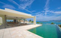 Immaculate 4-Bed, 6-bathroom Contemporary Sea View Villa, Choeng Mon