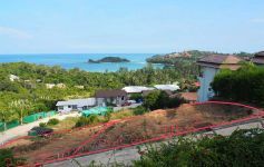 740 sqm of Premium Sea View Land – Gated Estate, Choeng Mon