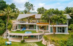 Spectacular Contemporary 5-Bed Hilltop Villa, Taling Ngam