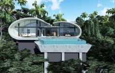 Front Row Plots 3 & 4 at The Lux Residence, Koh Samui