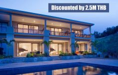 Discounted by 36%: Deluxe Sea View Townhouses, Chaweng Noi