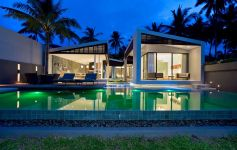 Contemporary 3-Bed Beachfront Villas, Bang Por