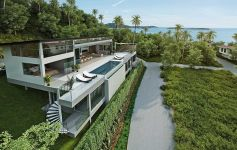 Contemporary 4-Bed Pool Villa – Stunning Panoramic Views of Chaweng Bay