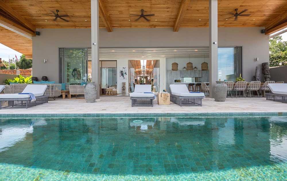 Koh Samui Property for Sale - 6-Bed Beachfront Villa, Laem